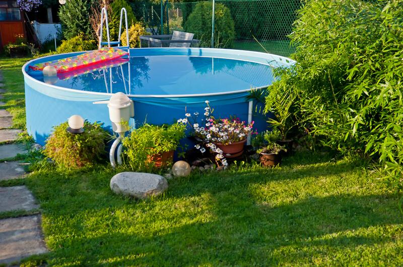 opblaas-zwembad