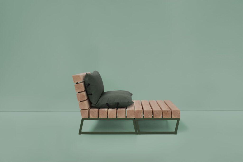 loungestoel van douglas