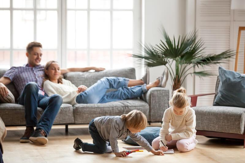 huis netjes houden met kinderen